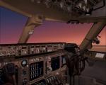 747-400 cockpit