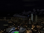 Over Seahawks stadium