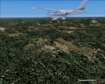 Over Sierra Leone's mountains