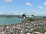 RealAir Spitfire over KSEA