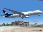 B787 over St Maarten