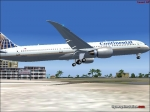 Continental 787 at St Maarten