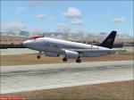A319 TACA Peru Departing