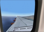 Wing view Kittyhawk 737-700
