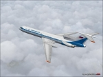 tu154 Aeroflot