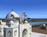 Grumman Goose Taj Mahal fly-by