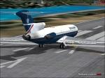BA Test Flight 727