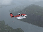 A misty day over Prince Rupert BC