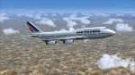 B747-400 Over France
