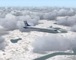 Romanian Aircraft over winter wonderland