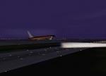 WTC B764 at DFW