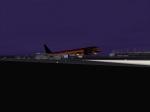 WTC B764 stiff landing at DFW