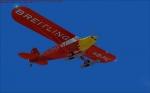 Piper Breitling in Flight