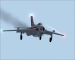 Mig-19 on final