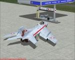 Mig-19 at fuel pump