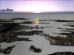 KingAir 350 Sunrise over Sydney (YSSY)