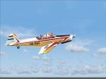 Zlin Z-526F is Czechoslovak sports and training plane