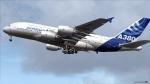 A380 at Paris air show