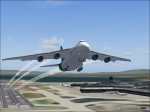 AN224 Departing KLAS