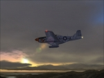 P-51 Mustang Evening