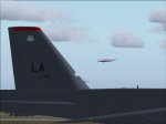 USAF arriving at Fairford