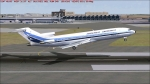 Aerolíneas Argentinas 727-287 LV-OLP despegando de SAEZ