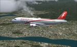 Air Arabia A320 cruising