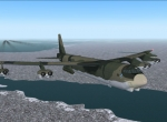 B-52 climing to altitude