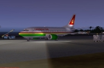 Caribbean Star B737  at Princess Julianna Airport