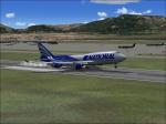 747-400 national landing
