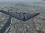 B2 over Baghdad
