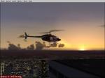 Bell 206BIII Sunset