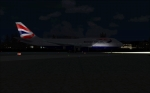 BA 747 leaving for Seattle