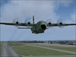 C130 Hercules taking off