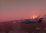 Cessna with nice sky