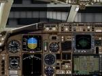 B767-300 2D Cockpit