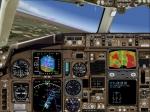 B767-300 Level D Cockpit