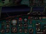 tu154B2 Dark Cockpit