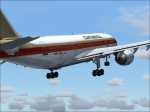 Continental A310 departing Miami Intl.