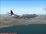 Continental 737 Climbing