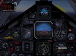 Customised SR71 cockpit