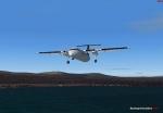 Dash 8 Approaching Nelson