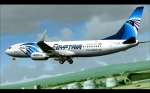 737-800 taking off from Vienna