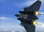 F14 with afterburners lit