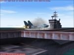 F14 Touchdown on Carrier