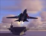 F-14 launch