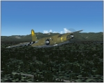 B-26B-55MA low fly-by turn