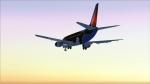 Southwest Shamu B737-300 Landing