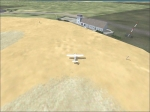 Barra Airport: taxiing across sand