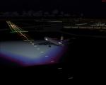Icelandair Night Approach